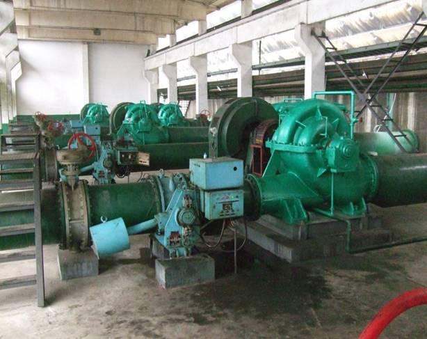 永洋钢铁水厂水平进料泵