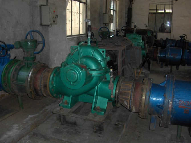 永洋钢铁水厂连铸设备泵
